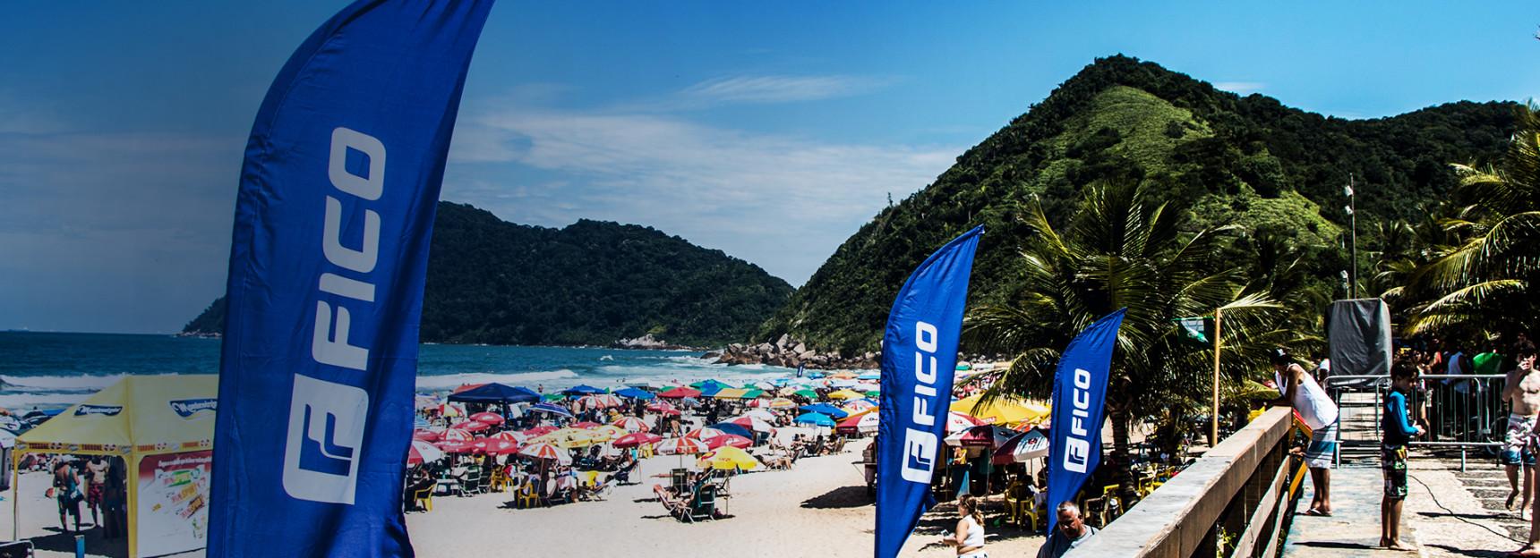 Campeões do FICO Surf Festival